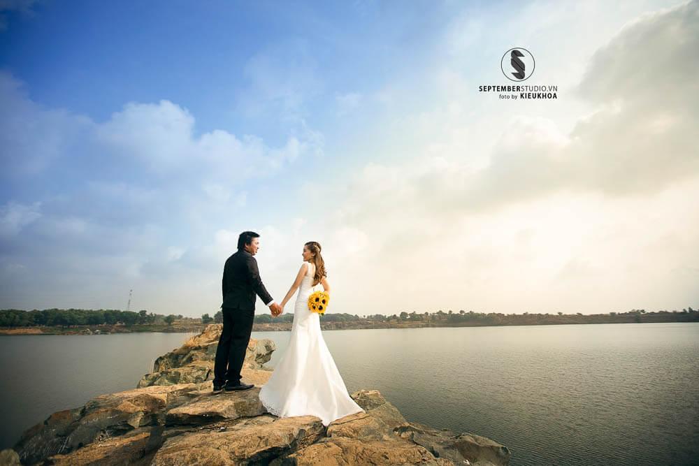 Chụp ảnh cưới hồ đá thủ đức