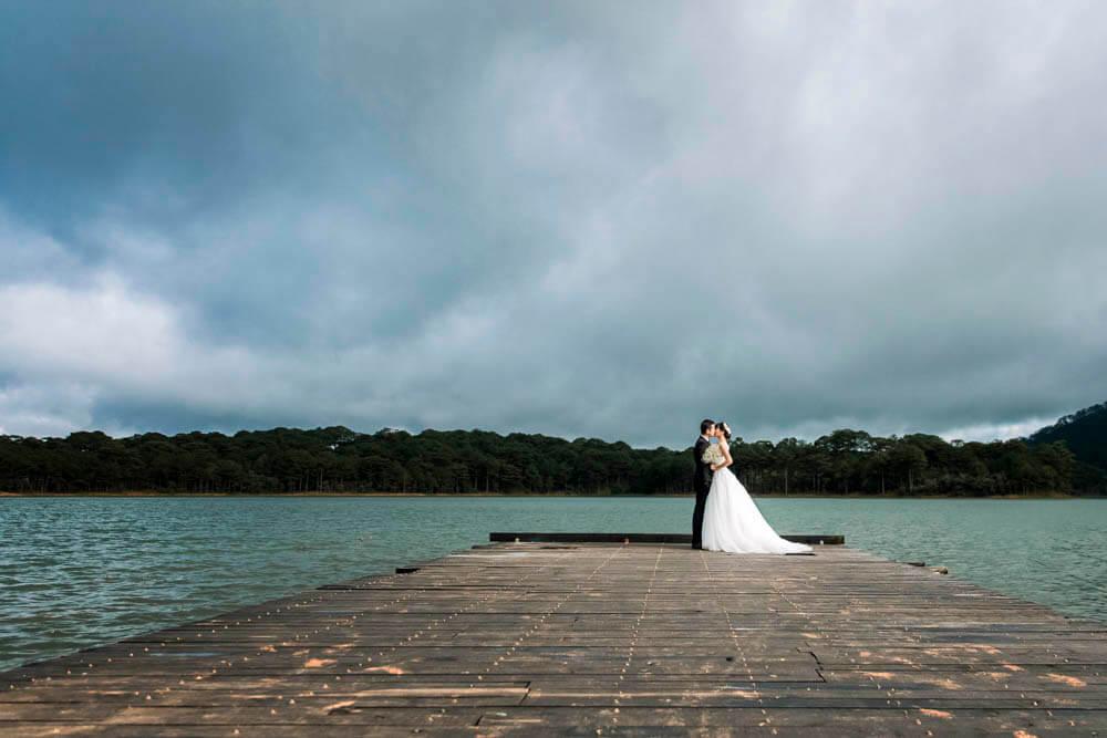 chụp ảnh cưới ngoại cảnh ở đà lạt