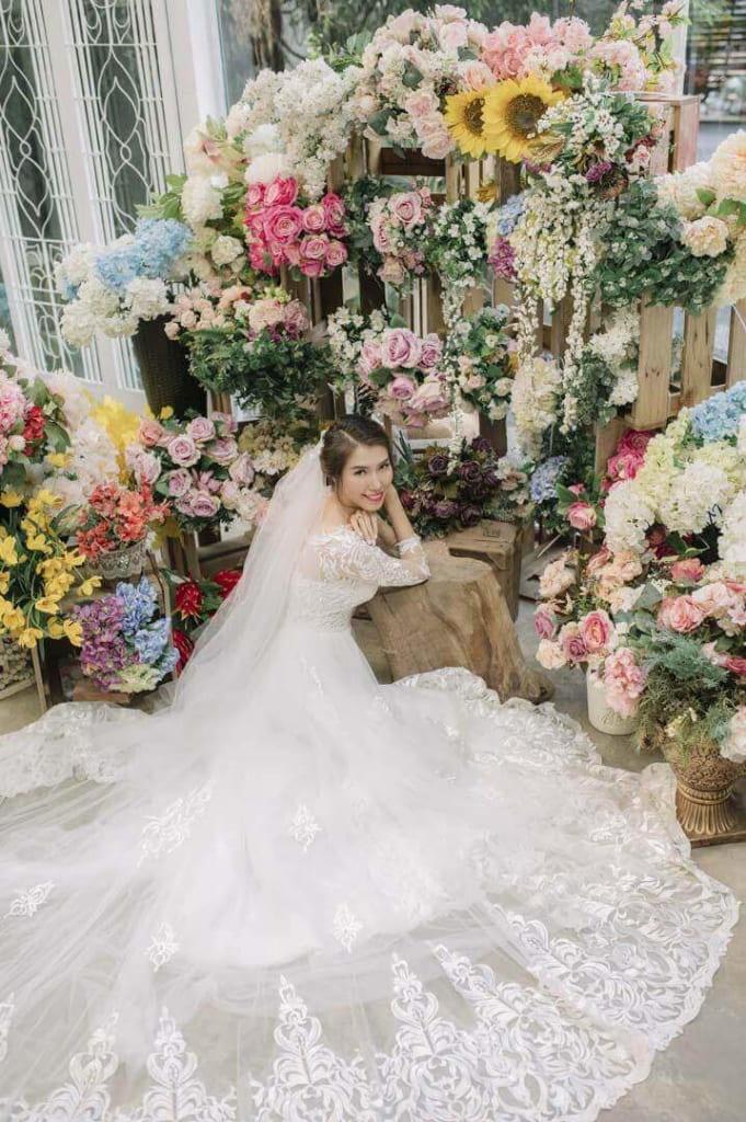 Chụp ảnh cưới tại studio hcm