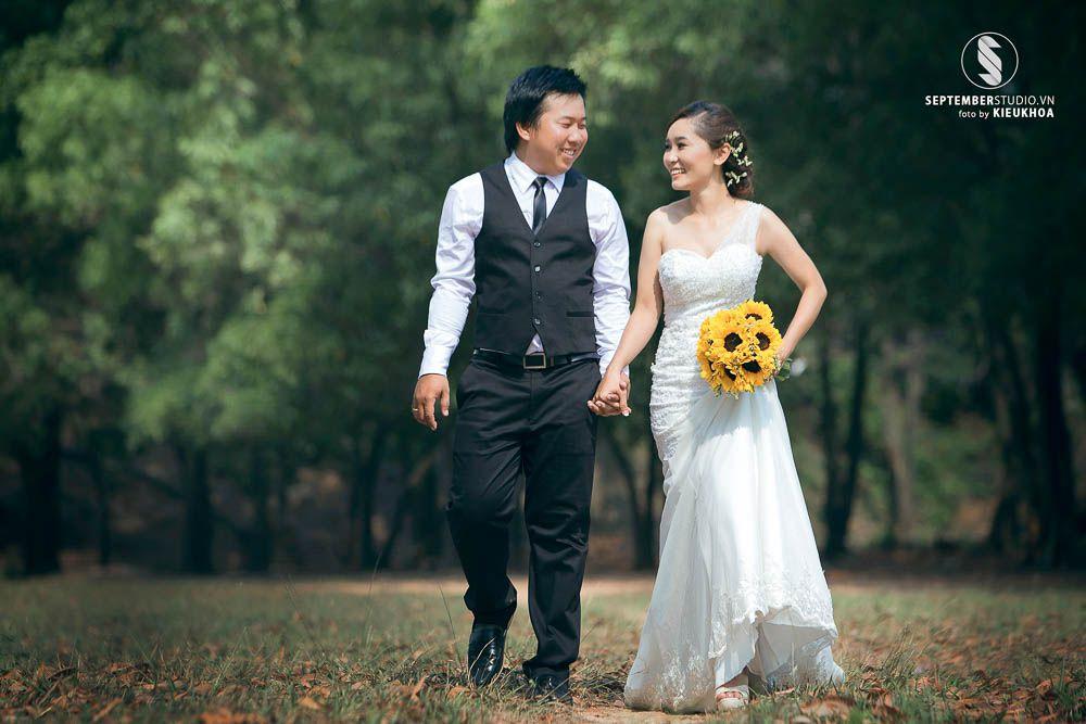 Chụp hình cưới ở hồ đá thủ đức