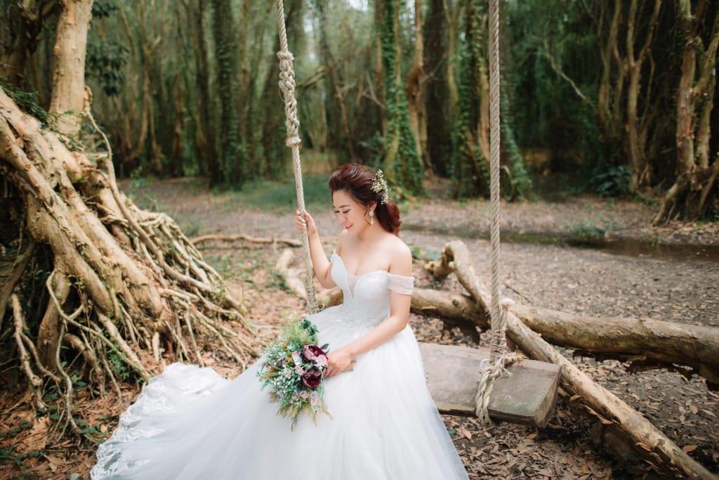 Nhiều cặp đôi mong ước được đến và chụp ảnh cưới tại Đà Lạt.