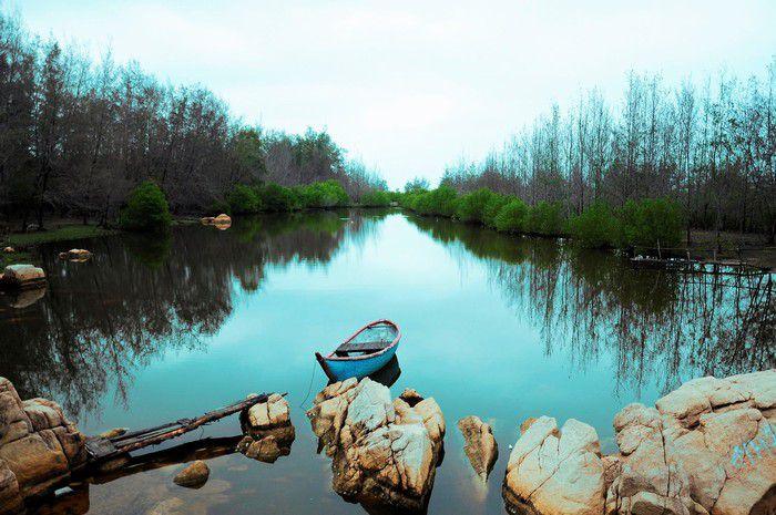 Hồ Cốc lung linh