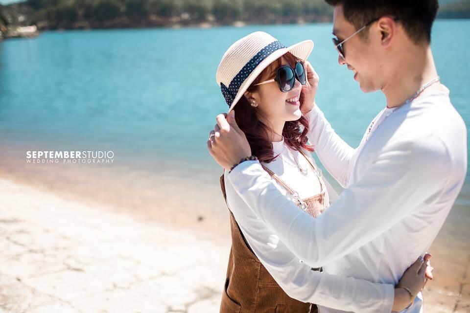 Ảnh cưới chụp theo phong cách Hàn Quốc đẹp