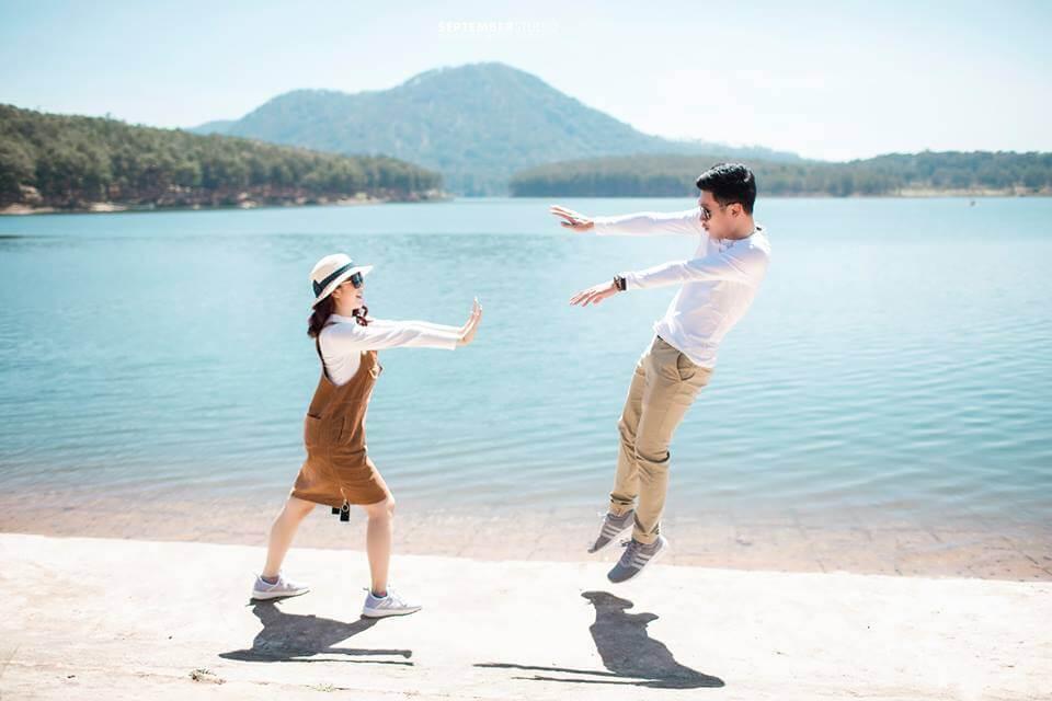 Ảnh cưới chụp theo phong cách Hàn Quốc bá đạo