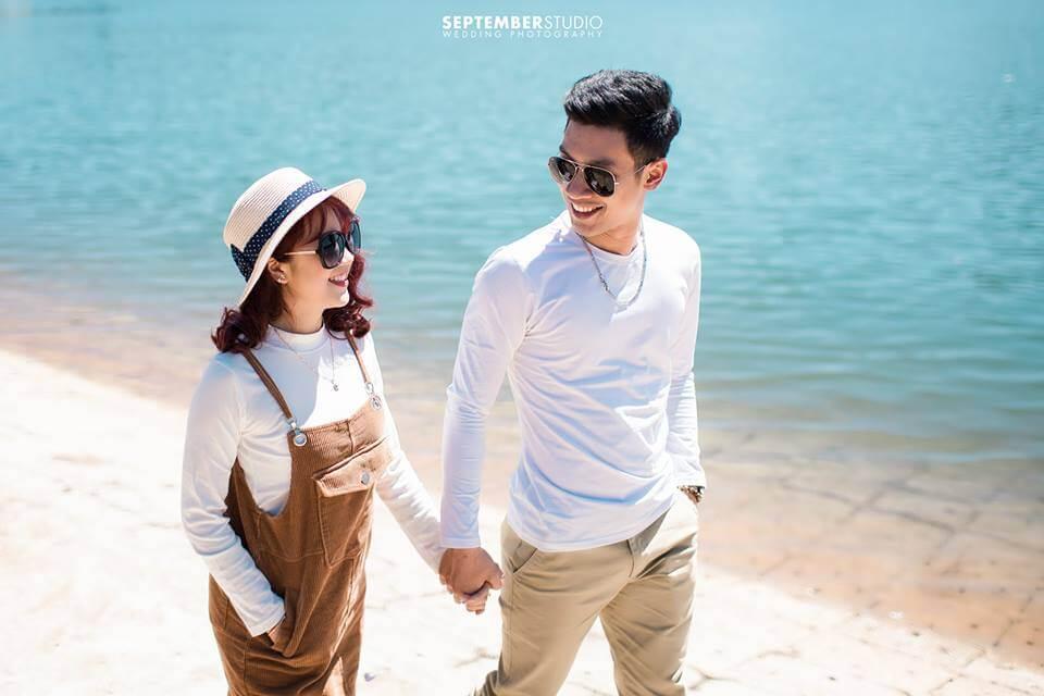 Ảnh cưới chụp theo phong cách Hàn Quốc