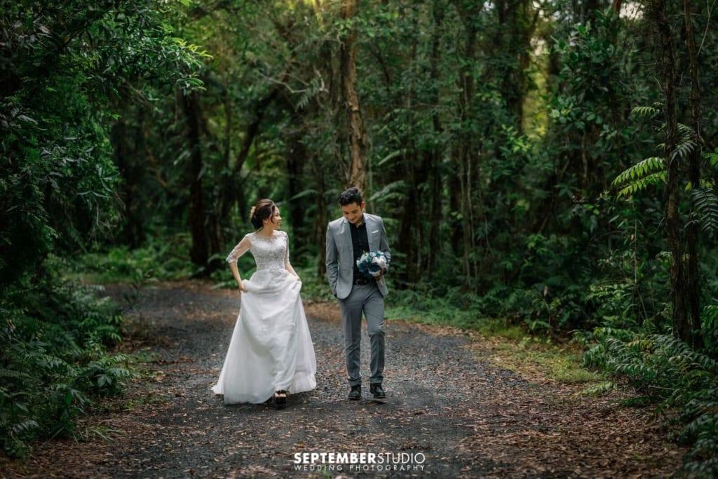 Ảnh cưới phong cách Hàn Quốc nhẹ nhàng mà lãng mạn.