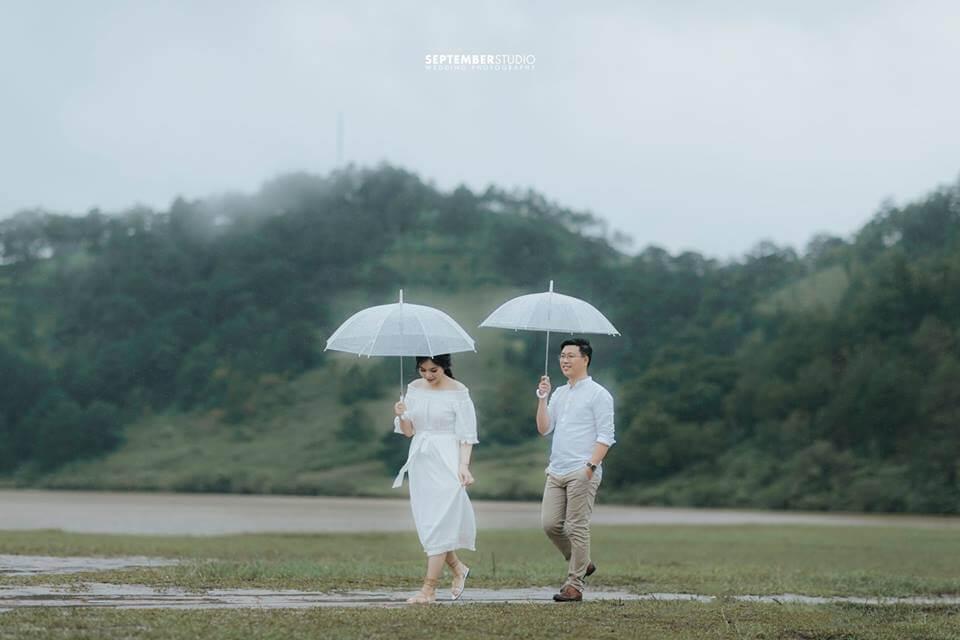 Đà Lạt mơ mộng là địa điểm được nhiều cặp đôi lựa chọn chụp hình cưới.