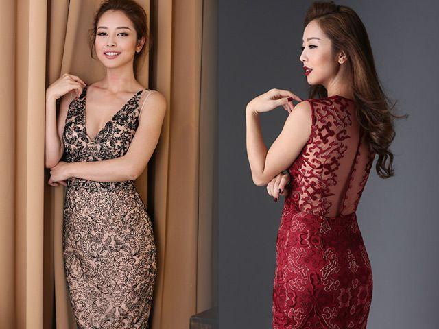 Váy ôm sát là mẫu váy đi dự cưới cuốn hút nhất