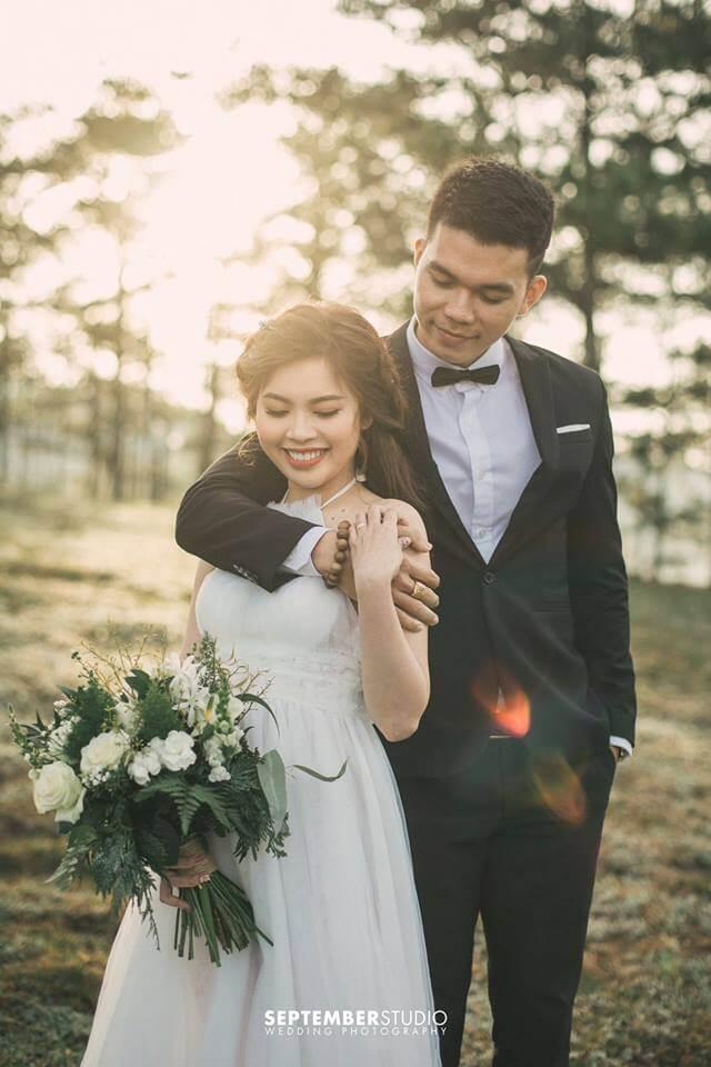 Ảnh cưới Đà Lạt dễ thương