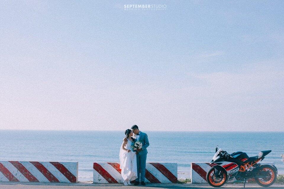 Các kiểu chụp ảnh cưới ngoại cảnh