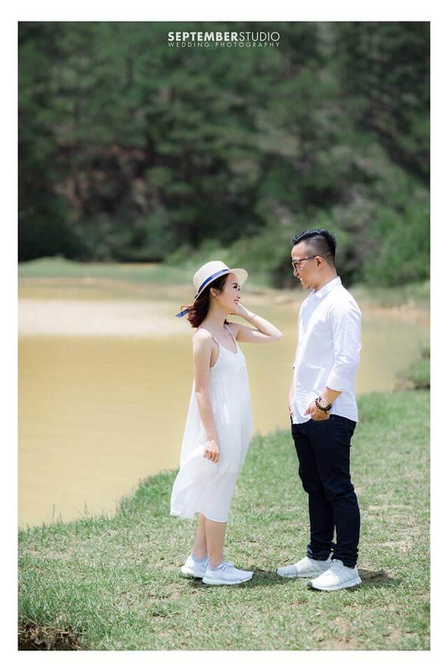 Các kiểu chụp ảnh cưới xinh