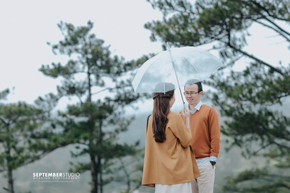Các kiểu chụp hình cưới ngoại cảnh đẹp