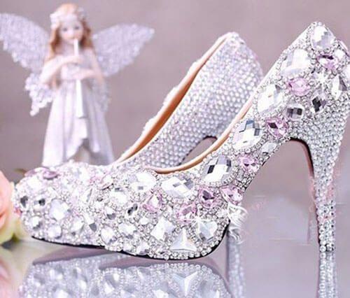 Giày cưới nữ đẹp