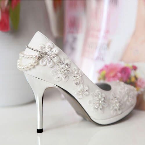 Giày cưới nữ quý phái