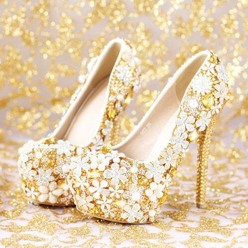Giày cưới sang trọng