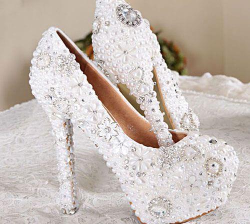 Mẫu giày cưới nữ