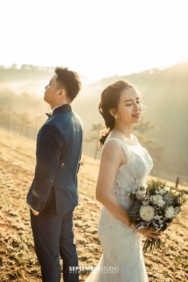 Những bộ ảnh cưới tự nhiên