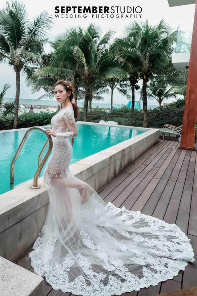 Váy cưới trắng đẹp