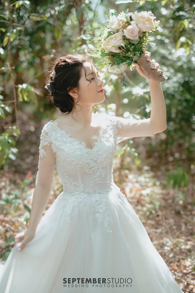 Váy maxi chụp ảnh cưới