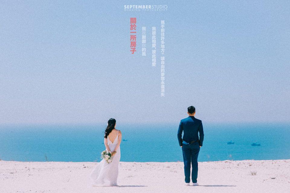 Ý tưởng khi chụp hình cưới ở biển rất phong phú