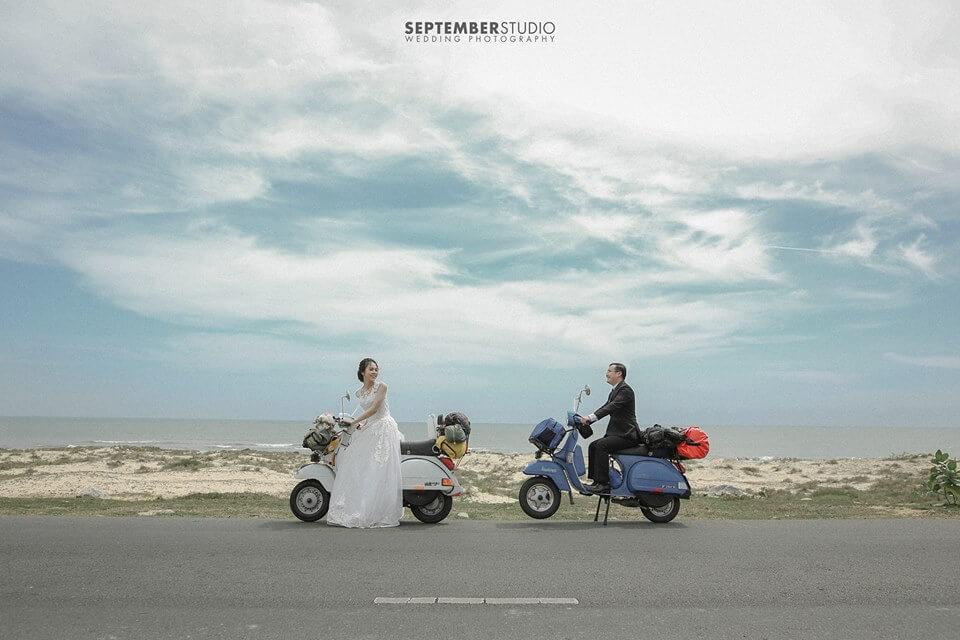 Chụp ảnh cưới ở biển nên mặc gì