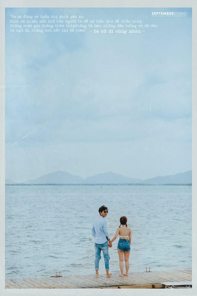 Chụp ảnh cưới ngoài biển đẹp