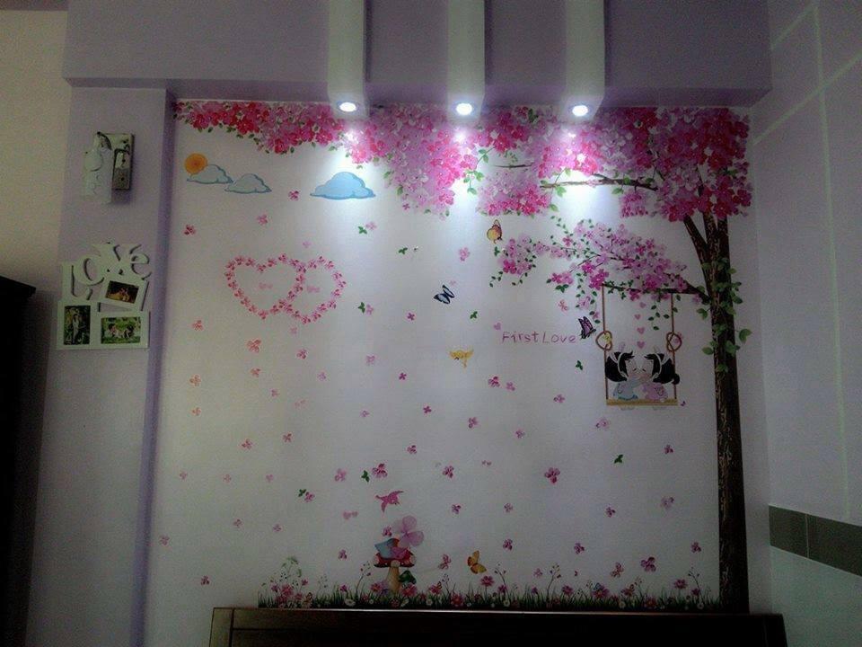 Trang trí phòng cưới bằng giấy decan tốt nhất