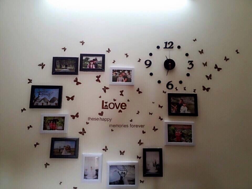 Cách trang trí phòng cưới bằng giấy decan đẹp