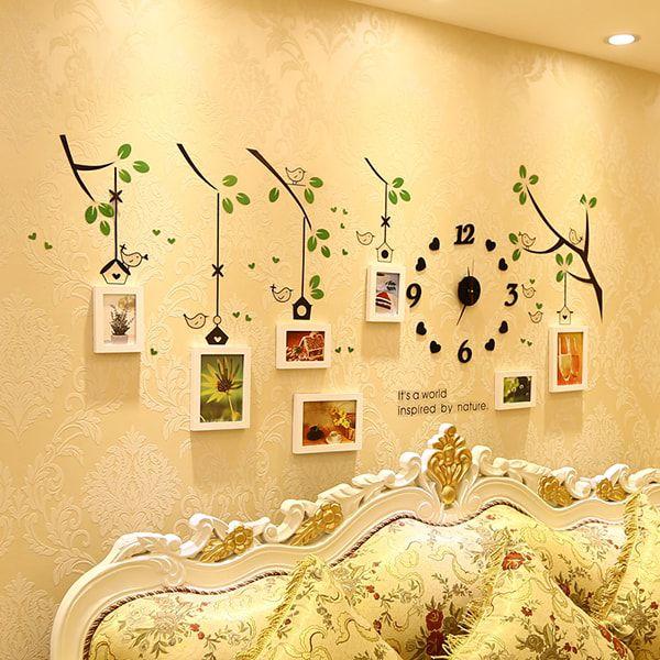 Cách trang trí phòng cưới bằng giấy decan tốt