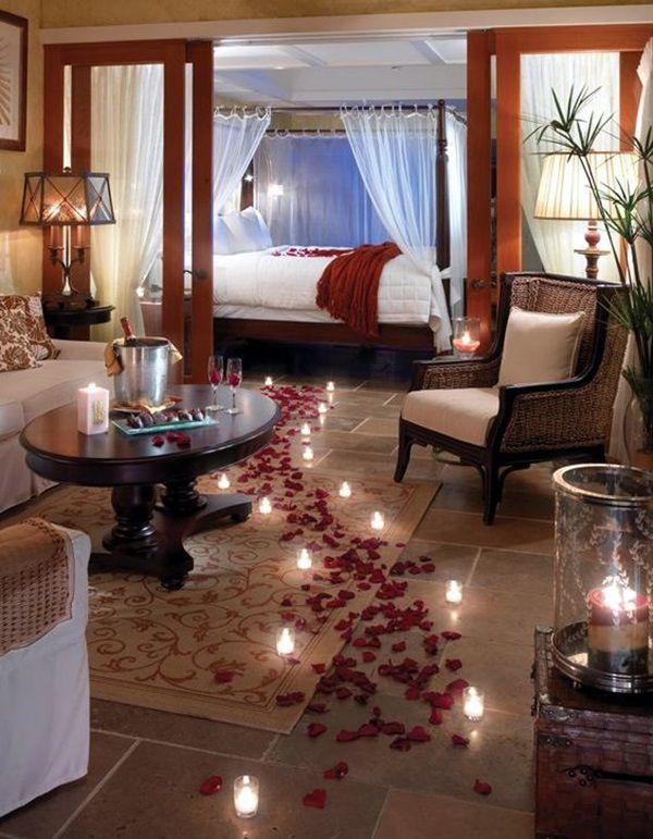 Cách trang trí phòng cưới bằng hoa hồng