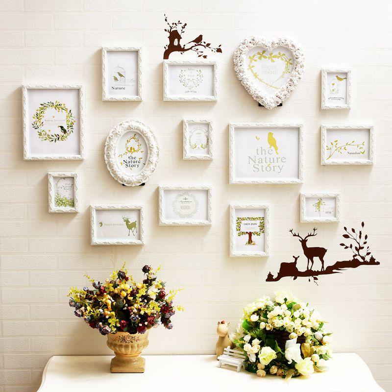 Trang trí phòng cưới bằng khung hình dễ thương nhất