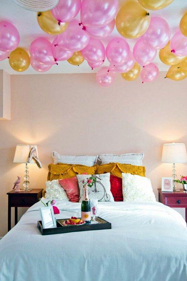 Trang trí phòng cưới bằng bóng bay đẹp