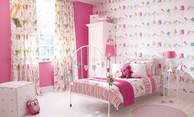 Trang trí phòng cưới màu hồng