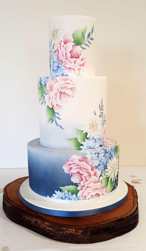 bánh cưới 3 tầng đẹp