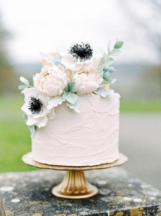 bánh cưới đơn giản