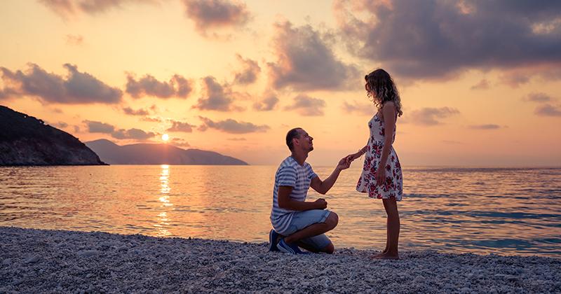 lời cầu hôn chân thành