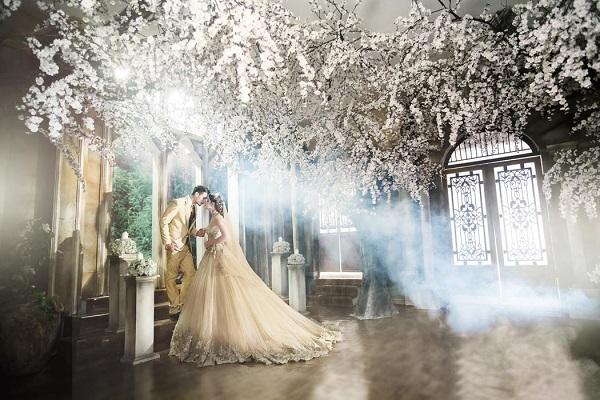 hình cưới đẹp phim trường the Vow