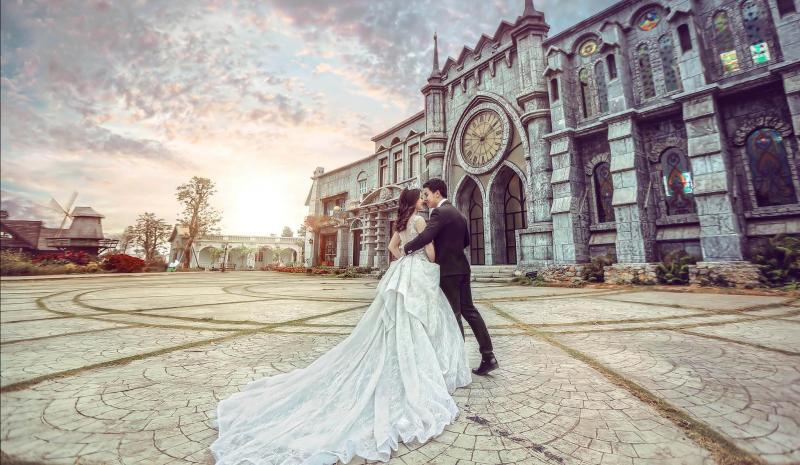 Chụp ảnh cưới phim trường cửu long cần thơ