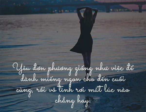 Yêu đơn phương là thư gì đó vương vấn trong lòng