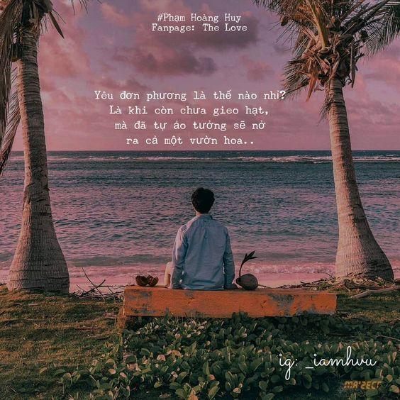 những câu nói, bài thơ về tình yêu đơn phương