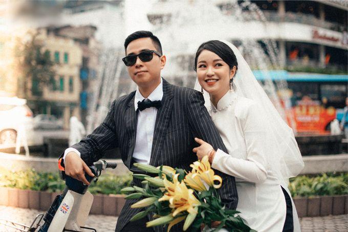 Concept chụp ảnh cưới Hà Nội xưa