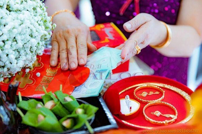 tiền nạp tài đám cưới
