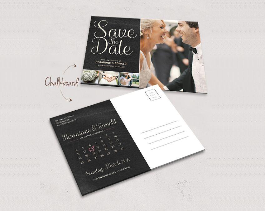 Thiệp Save The Date thông thường sẽ gửi trước 4 - 8 tháng