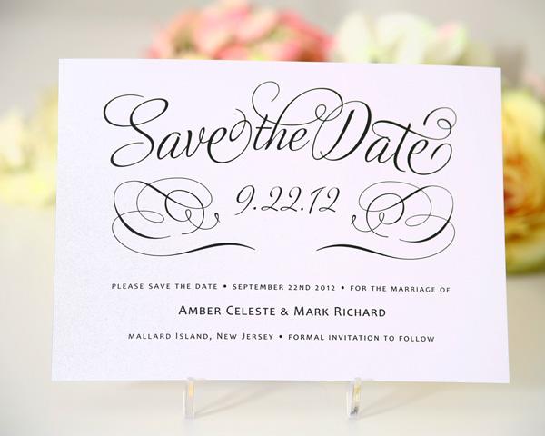Mẫu thiệp Save The Date đẹp