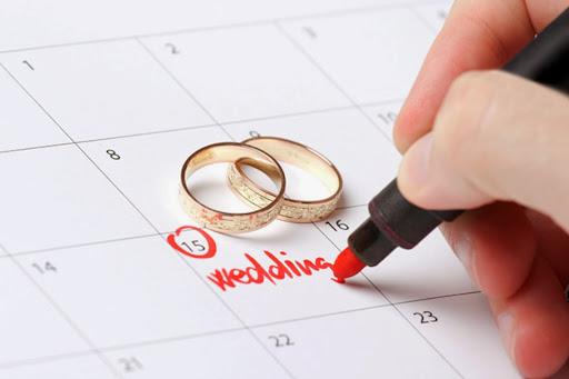 xem ngày cưới là điều quan trọng