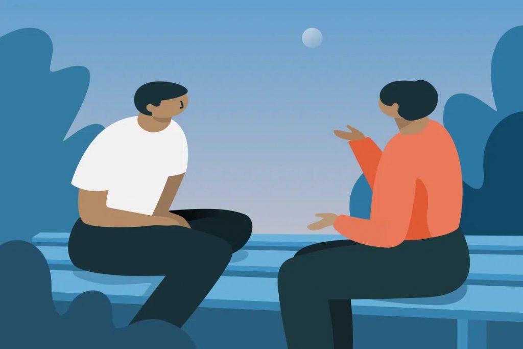 Biết lắng nghe cũng là cách biểu hiện sự tôn trọng