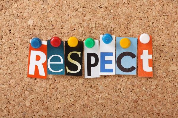 Cư xử đúng mực là cách thể hiện sự tôn trọng